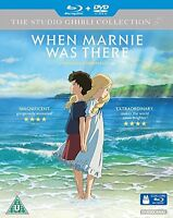 When Marnie Was There [Blu-ray Doubleplay] [2016] [DVD][Region 2]