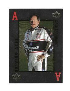 1996 SP DRIVING ACES #KR1 Dale Earnhardt & Jeff Gordon SWEET & SUPER SCARCE!