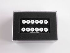 Seymour Duncan SH-8n Invader NECK Humbucker Black W/White Poles
