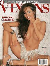 PLAYBOY'S Voluptuous Vixens COVER GIRL KALANI BUSTY BOLD & BEAUTIFUL JAN 2004