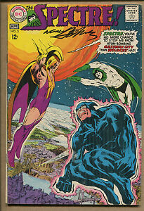 Spectre #3 - Signed Neal Adams - 1968 (Grade 4.0) WH