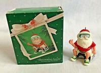Hallmark Christmas Keepsake Ornament Hitchhiking Santa Original Box 1983