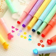 3PC Cute Color Highlighters Inks Stamp Pen Creative Marker Pen school Stationery