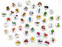 Chad Valley Playsmart Illustrated Card My First Learn Pack Learning Creative Toy