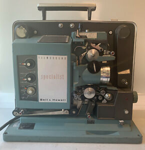 Vintage Bell & Howell Autoload Specialist Filmosound Projector 552 Tested & Work