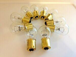 Box 10 1156 12v Stock Backup Corner Light Parking Light Bulbs Lamps Mer Linc