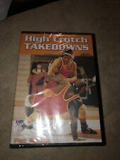 Championship Productions: High Crotch Takedowns Coaching Wrestling Dvd New