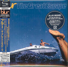 BLUR-THE GREAT ESCAPE-JAPAN MINI LP SHM-CD BONUS TRACK F45