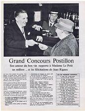 PUBLICITE ADVERTISING 044 1964 BOUYER quand la voix doit porter amplification