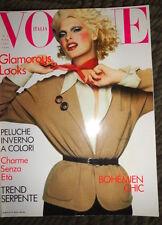 Vogue Italia 94 Linda Evangelista Claudia Schiffer Naomi Campbell Laetitia Casta