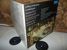 BEETHOVEN: Symphonies n°2 & n°9 > Gewandhaus Leipzig Masur / Eterna stereo DDR