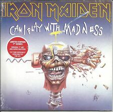 IRON MAIDEN Can I play with Madness / Black 5000 MADE 7 INCH vinyl SEALED 2014