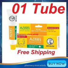 1 Tube Mentholatum Acnes Scar Mark Spot Care Transparent Gel Acne Treatment