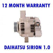 DAIHATSU SIRION 1.0 1.3 1998 1999 2000 2001 2002 2003 2004 2005 RMFD ALTERNATOR