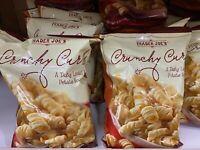 2 Trade Joe's Crunchy Curls A Tasty Lentil & Potato Snack 6 oz Each x Lot 2 Pack