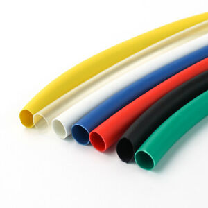 Dia 4.5mm Heat Shrink Tube 2:1 Polyolefin Cable Wire Tubing Sleeving All Colour