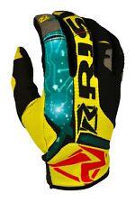 Risk Racing Salute Gloves motocross enduro Digital Yellow Large