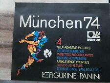 Panini campeonato 1974 * WM 74 Munich * 1 x bolsa Pack * * pochette Sealed