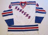Ryan Hollweg New York Rangers Authentic NHL Starter Hockey Jersey! Size 60!