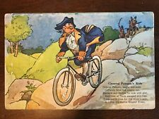 1910s Corbin Coaster Brake Bike Ad - General Putnam's Ride