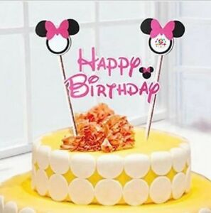 Party :  Minnie Mouse Cake Topper Party Decor