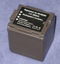 Akku 2800mAh typ VW-VBG260 VW-VBG260-K VBG260PPK Für Panasonic HDC-SD20