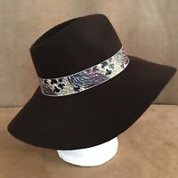 Adult Disney World Animal Kingdom Twist Ribbon Felt Safari Hat unisex New Parks