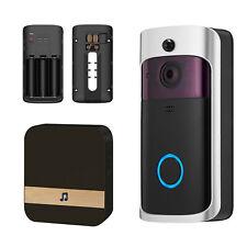 Wireless Smart WiFi Home DoorBell Ir Hd Video Camera Visual Intercom/Memory Card