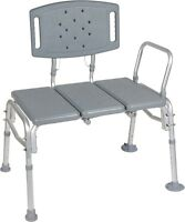 Heavy Duty Bariatric Seat Transfer Bench - Wet or Dry - Drive Medical 12025KD-2