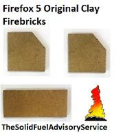 CLOCK BLITHFIELD 5 FIRE BRICK SET