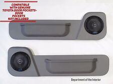Toyota LandCruiser 78/79 Series (Single Cab) Speaker Door Pods- Alpine Speakers