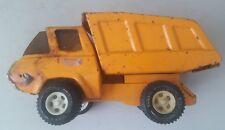 vintage tonka truck 1970s - vintage tonka orange dumper