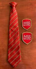 MSS Security Uniform Tie and Patch