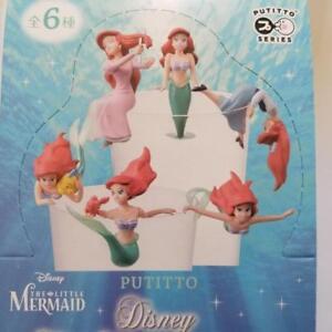 Putitto Cup Figure Disney The Little Mermaid Full set of 6 pieces