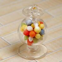 1:12 Miniatur Candy Jar Glasschalen Puppenhaus Glaswaren Miniatur.Süßigkeiten