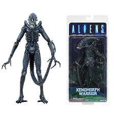 "NECA Aliens Series 2  Blue Xenomorph Warrior 7"" Action Figure Collection Toy UK"
