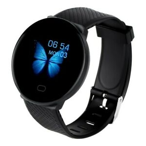 Waterproof Bluetooth Smart Watch Band Fitness Heart Rate Tracker For Android IOS