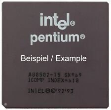 Intel Mobile Pentium SY046 100MHz/66MHz Socket/Socket 5 & 7 A80502100 Processor