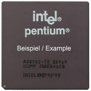 Intel Mobile Pentium SY046 100MHz/66MHz Socket/Socket 5 & 7 A80502100 Processor