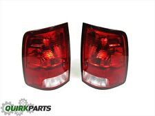 09-12 DODGE RAM 1500 REAR RIGHT SIDE & LEFT SIDE TAILLAMP LIGHT OEM NEW MOPAR