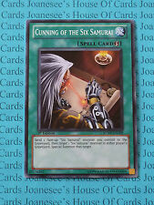 Cunning of the Six Samurai RYMP-EN109 Common Yu-Gi-Oh Card 1st Edition New