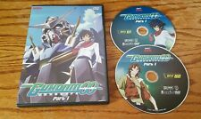 Mobile Suit Gundam 00: Part 1 (DVD) 2-Disc Set double anime tv show Episodes 1-9