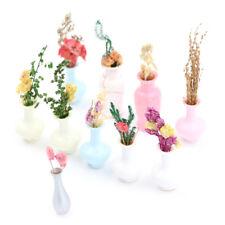 Mini Vase Miniature landscape Sand table model Dollhouse Decor Kids Toy^