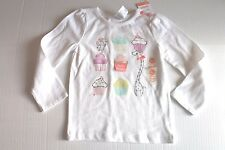 Gymboree Birthday Cupcake Shirt Long Sleeve Top Infant Girl 18-24 Months NEW