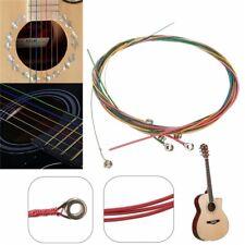 Buntes Akustik-gitarren Saiten Multi Farbe A407 Regenbogen Saiten Akustische