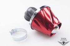 Tuning Luftfilter 28 und 35mm Vergaser Anschluss Rot Alu Simson MZ Honda NEU *