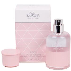 S.Oliver So Pure Eau de Toilette Spray Pour Femme 30 ML