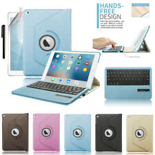 """For iPad 9.7"""" 6th Gen/2018 5th/2017 Pro Air 2/1 PU Leather Case+Magnet Keyboard"""