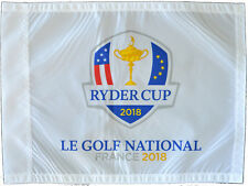 2018 RYDER CUP (LE GOLF NATIONAL) SCREEN PRINT Golf FLAG