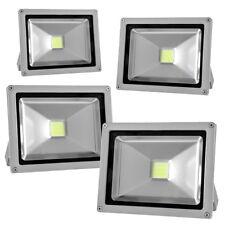 4PACK 30W 120V LED Flood Light Spotlights White Outdoor Garden Security Lamp